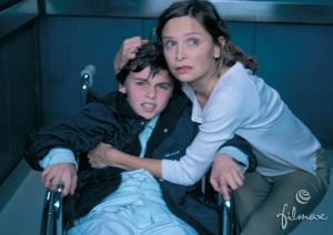 Calista Flockhart som bekymret sykepleier