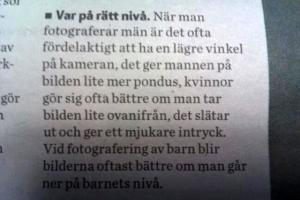 21. Fototips Trollhättans tidnings Fotografskolaotoskola