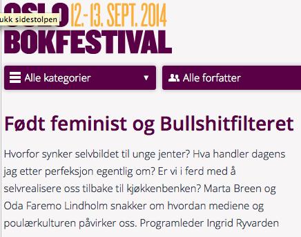 bokfestival